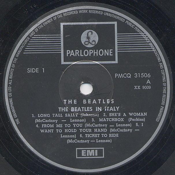 Beatles Vinyl Israel