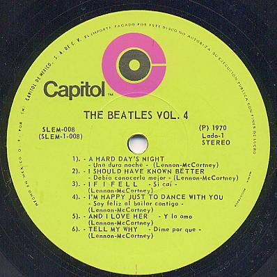 Beatles La Flaca Sally